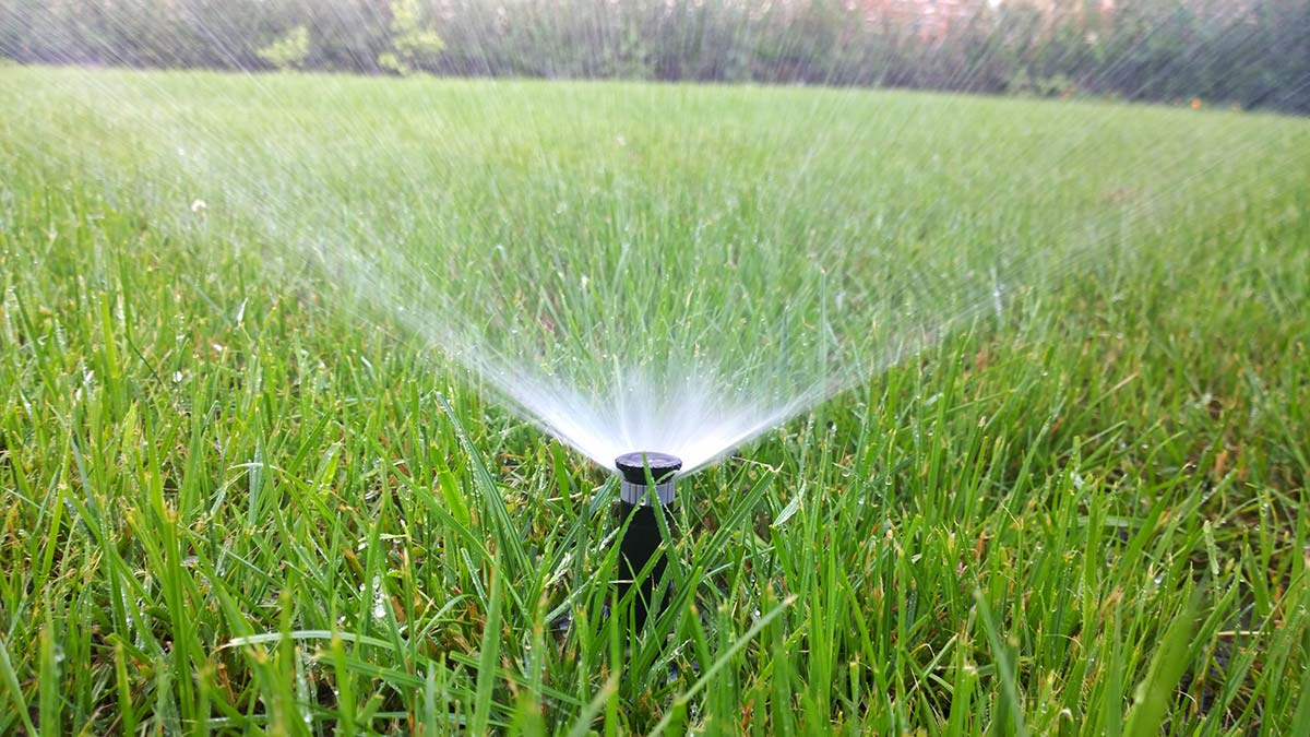underground sprinkler installation cornell design landscaping moose jaw